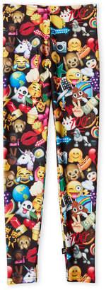 Zara Terez Girls 7-16) Emoji Print Leggings