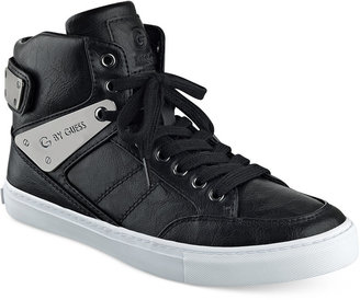G by GUESS Odean High-Top Sneakers $69 thestylecure.com