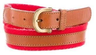 Christian Dior Canvas Hip Belt