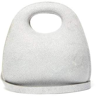 Lemaire Egg Stingray Effect Leather Bag - Womens - Grey