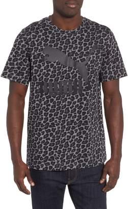 Puma Wild Pack AOP Logo T-Shirt