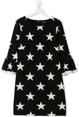 MonnaLisa TEEN star print dress