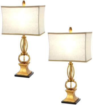 Uma Enterprises Set Of Two Classic Elegance Table Lamps