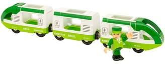 Brio Green Travel Train Toy Set