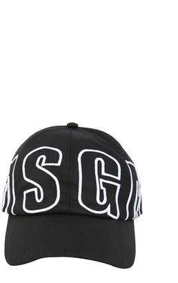 MSGM Baseball Cap With Logo