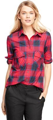 Flannel Buffalo Check Shirt $75 thestylecure.com