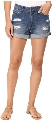 Volcom Stoned Midi Shorts $49.50 thestylecure.com