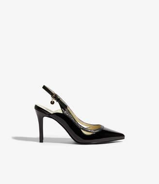 Karen Millen Patent Slingback Heels