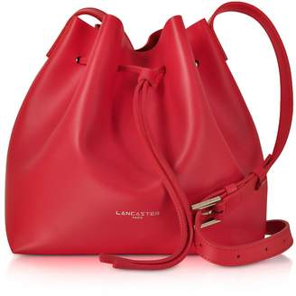 Lancaster Paris Pur & Element Smooth Leather Small Bucket Bag