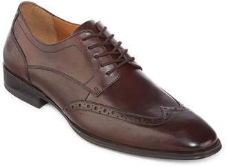 Hudson COLLECTION Collection by Michael Strahan Mens Oxford Shoes Wing Tip