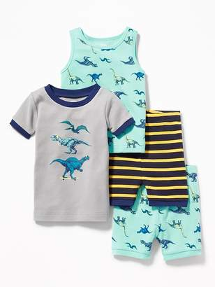 Old Navy Dinosaur-Graphic 4-Piece Sleep Set for Toddler & Baby