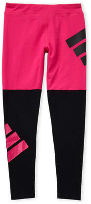 Puma Girls 7-16) Logo Color Block Leggings