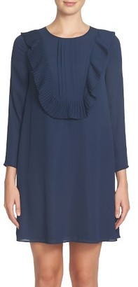 Women's Cece Delilah Ruffle Bib Dress $138 thestylecure.com