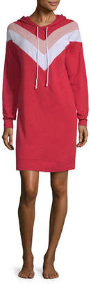 Flirtitude Long Sleeve Sweatshirt Dress-Juniors