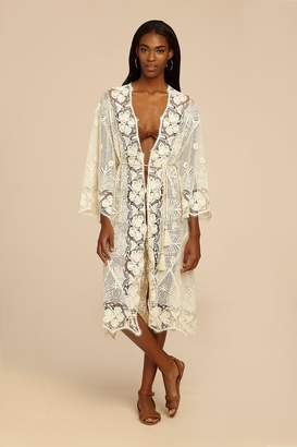 Miguelina Mia Tropical Lace Coat