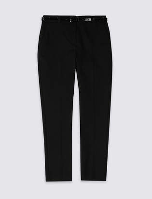 Marks and Spencer Girls' Skinny Leg Skinny Fit Trousers