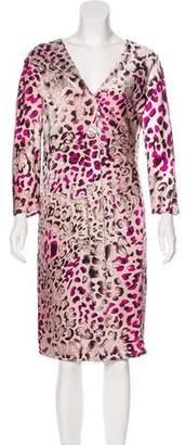 Salvatore Ferragamo Silk Midi Dress w/ Tags