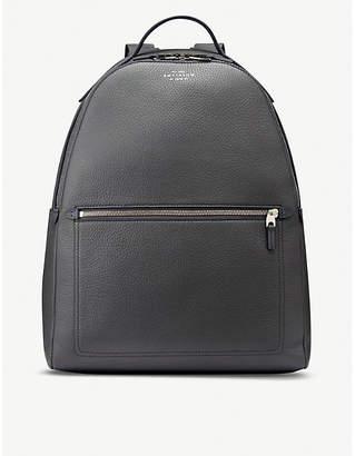 Smythson Burlington leather backpack