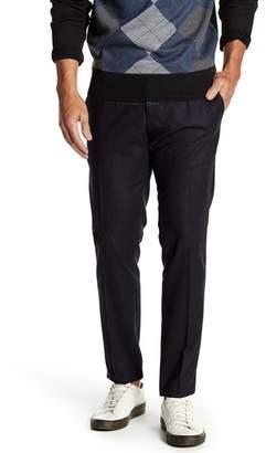 DAVID NAMAN Contrast Pants