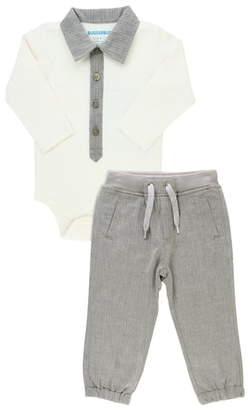 RuggedButts Bodysuit & Jogger Pants Set