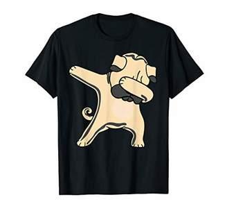 IDEA Dabbing Dog Pug Dab Funny Gift for men women kids cute T-Shirt