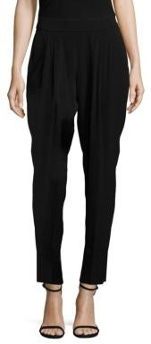 BOSS Tolia Crepe Tapered Pants $285 thestylecure.com