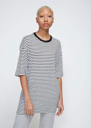 R 13 Oversized Striped Boyfriend Tee