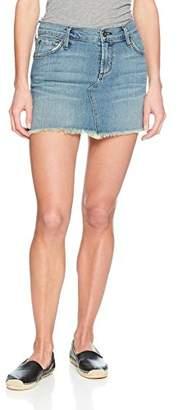 James Jeans Women's Mia Cut-Off Mini Skirt