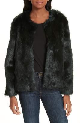 BA&SH Waddy Faux Fur Coat