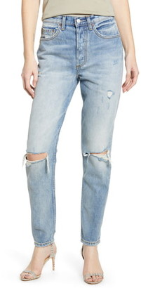 Boyish Jeans The Billy Ripped High Waist Ankle Skinny Jeans