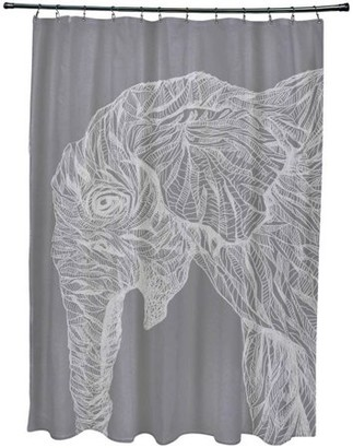 Animal Print Shower Curtain Shopstyle