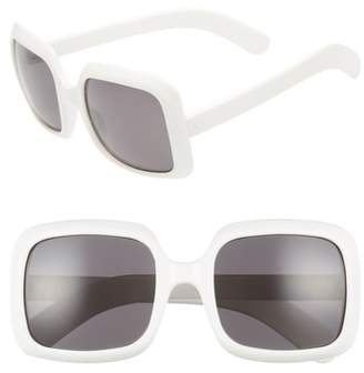 BP 54mm Retro Square Sunglasses