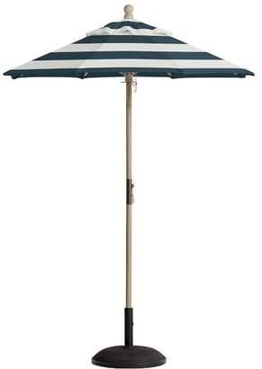 Pottery Barn Round Market Sunbrella Umbrella - Stripe