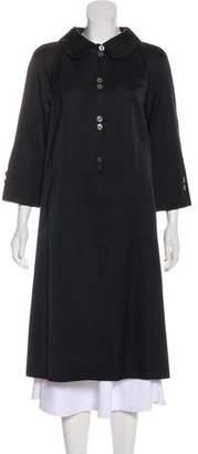 Barneys New York Barney's New York Silk Long Coat