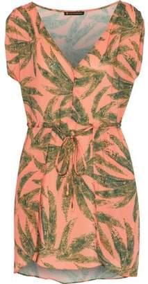 Vix Paula Hermanny Agata Printed Gauze Mini Dress