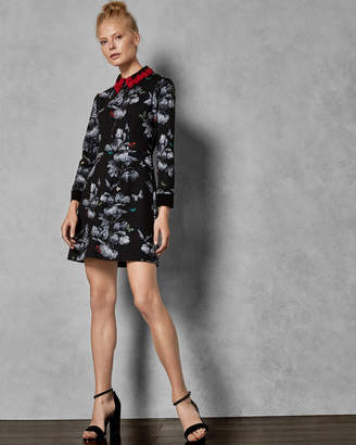 Ted Baker AMALIIA Narnia collar dress