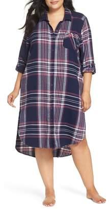 Make + Model Long Flannel Nightshirt