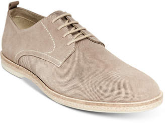 Steve Madden Men's Electro Perforated Suede Oxfords