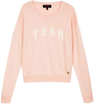 Juicy Couture Intarsia Yeah Pullover Sweater for Girls