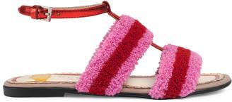 Children's terry cloth sandal $460 thestylecure.com