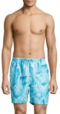 Tommy Bahama Oasis Tropical Print Swim Trunks