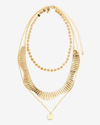 Addition Elle Short Multi-Chain Necklace