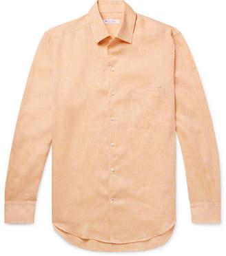 Loro Piana André Slub Linen Shirt