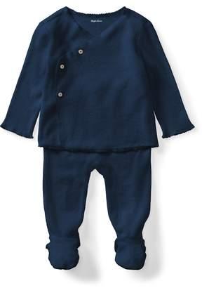 Ralph Lauren Cotton Kimono & Pant Set