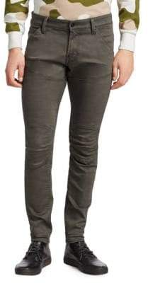 3D Skinny Seamed Jeans
