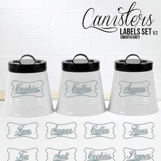 Campfire Graphics Classic Canister Labels (Set of 8)