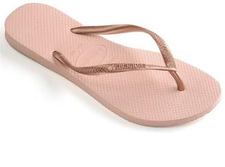 7eaabe8181a559 Gold Havaianas Flip Flops - ShopStyle UK