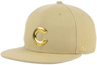 '47 Chicago Cubs Khaki Snapback Cap