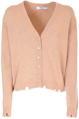 Blugirl Camel wool and cashmere blend Cardigan