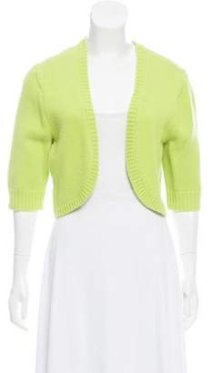 Michael Kors Cashmere Three-Quarter Sleeve Shrug